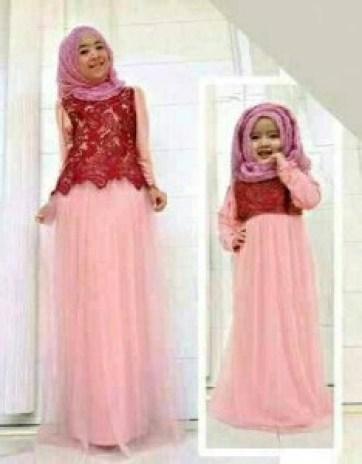 Desain Baju Couple Ibu dan Anak Perempuan