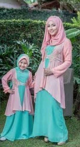 Baju Couple Keluarga Ibu dan Anak Perempuan
