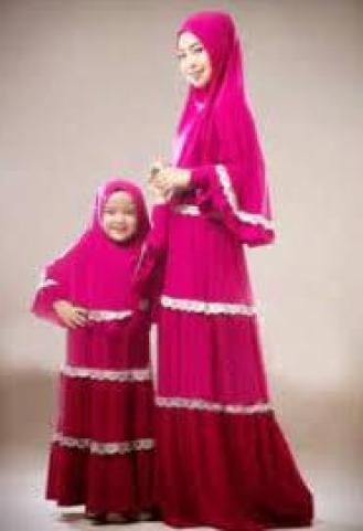 Baju muslim couple santai mewah