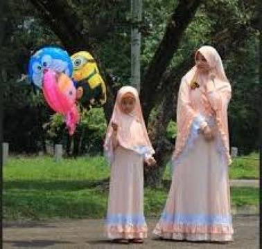 Model Pakaian Couple Ibu dan Anak Perempuan Terbaru