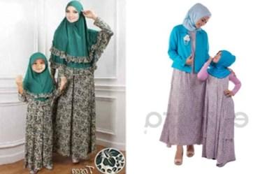 Trend Baju Seragam Keluarga Pengantin Muslimah Terbaru