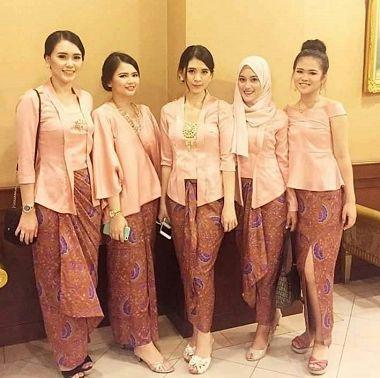 Model Baju Batik Solo Seragam untuk kerja di Kantor Terbaru