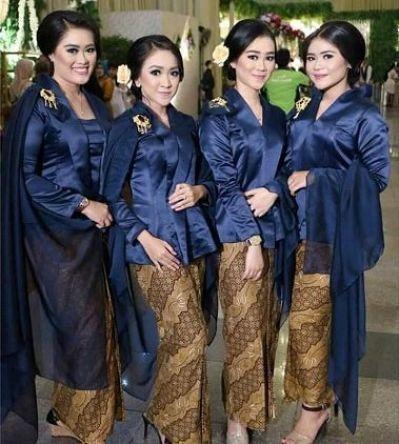 Model Setelan Kebaya Keluarga Untuk Pernikahan Terbaru
