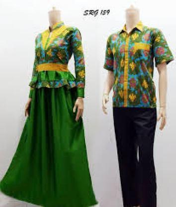 Model Baju Batik Seragam untuk Pernikahan Terbaru