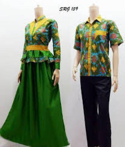 model busana Batik untuk lebaran modern terbaru
