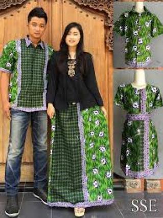 Model baju kondangan Batik terbaru