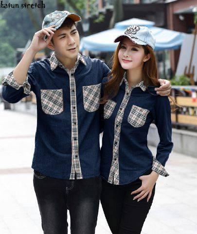 Model Baju Couple Semi Resmi  Modern Terbaru
