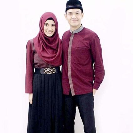 Model Baju Muslim kembar pasangan kekasih Terbaru