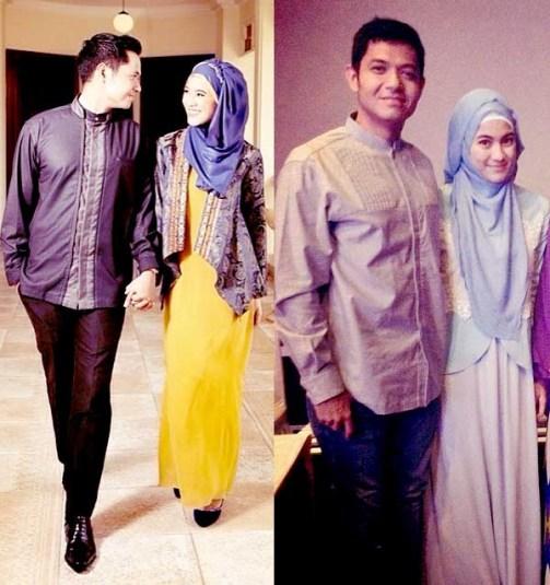 Model Baju Muslim Keluarga Artis Modern Terbaru