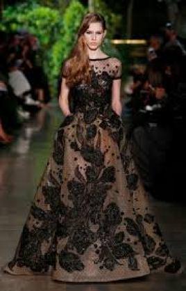 Model Gaun Pesta Bahan Sifon Terbaru