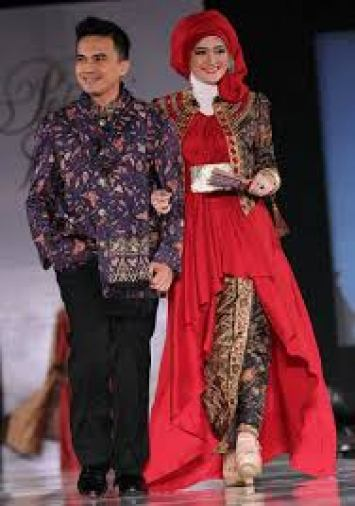 model baju batik couple modis Terbaru