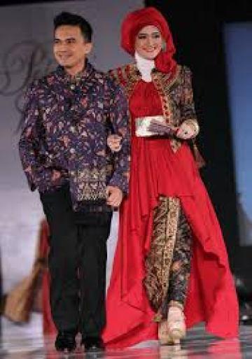 Model Baju Lebaran Couple Artis Terbaru