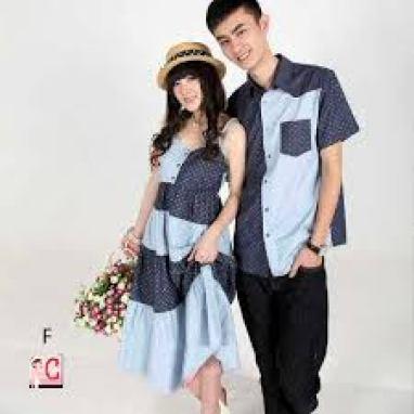 Model baju kembar pasangan kekasih Terbaru