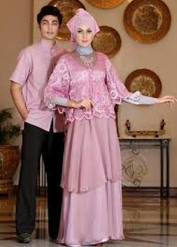 Model Baju Couple Batik Seragam Modern