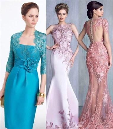 Model Baju Dress Brokat Pendek Untuk Pesta Terbaru