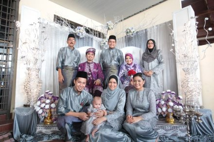 Contoh Pakaian seragam pernikahan modern Terbaru