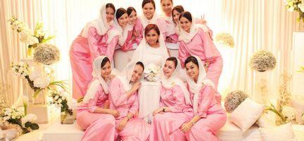 Model Baju Kebaya Seragam Pernikahan Terbaru