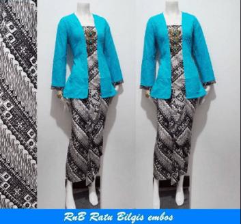 Model baju batik seragam untuk kerja
