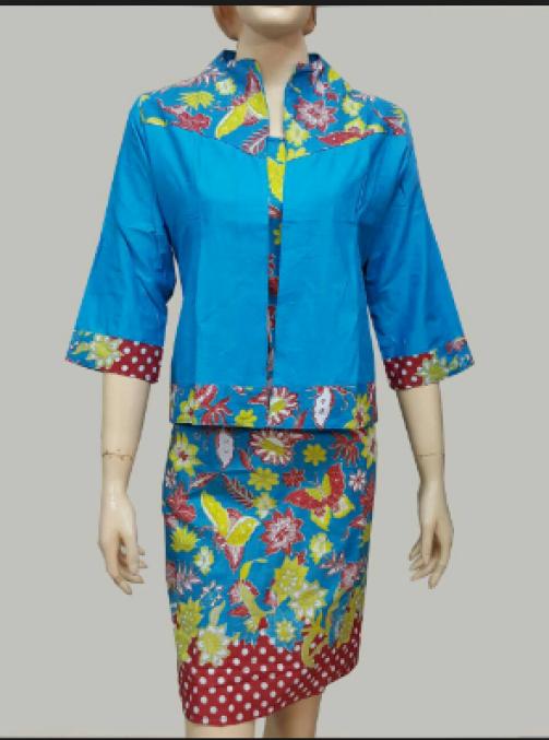 model baju batik kerja jas