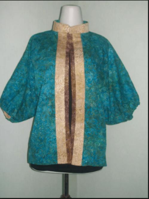 Model Busana Batik Wanita Terbaru