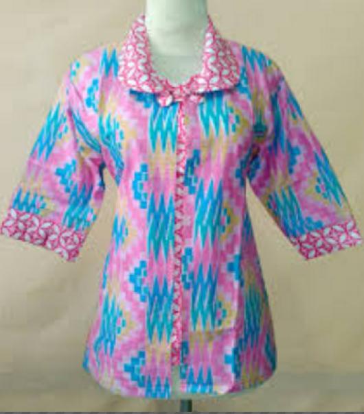 fashion baju batik kerja