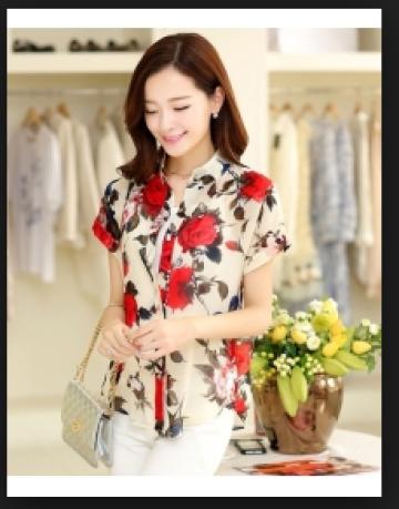 Baju atasan wanita korea