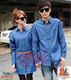 Baju batik couple keluarga modern
