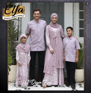Baju Muslim Family Couple Set