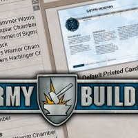 Army builder: Warhammer Age of Sigmar