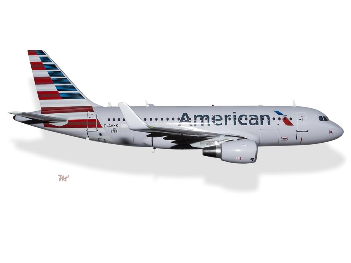 Airbus A319 American Airlines Model Private & Civilian