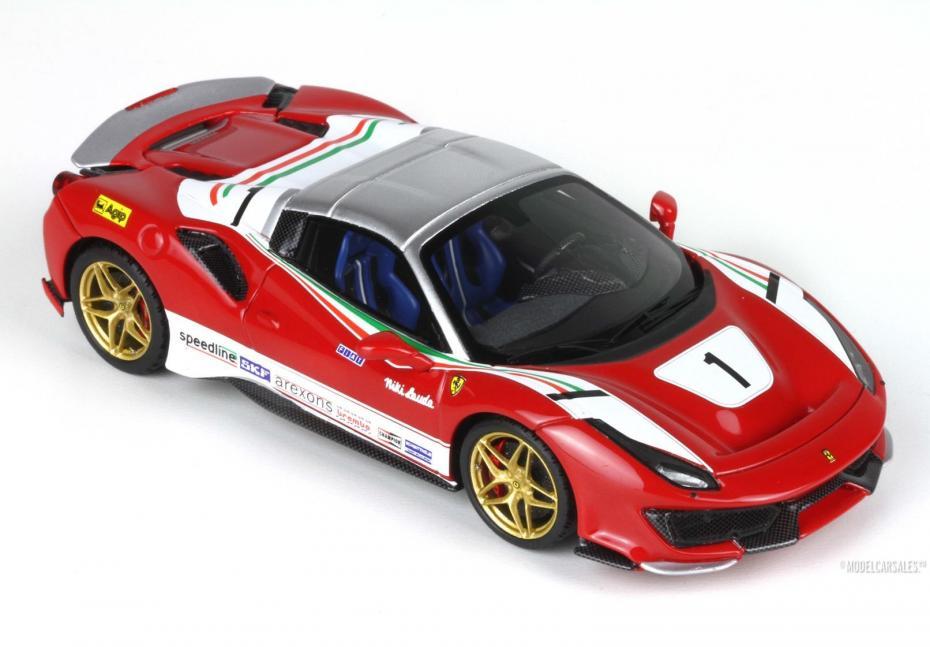 Ferrari 488 Pista Spider Speciale Lauda Version 1:43 BBRC219LA BBR Modellauto Zu verkaufen