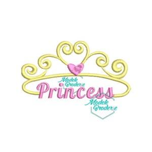 Model broderie coroana princess MBR379