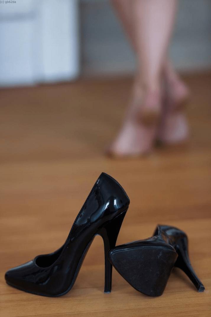 Ses nouveaux souliers