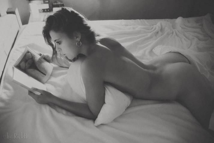 En lisant