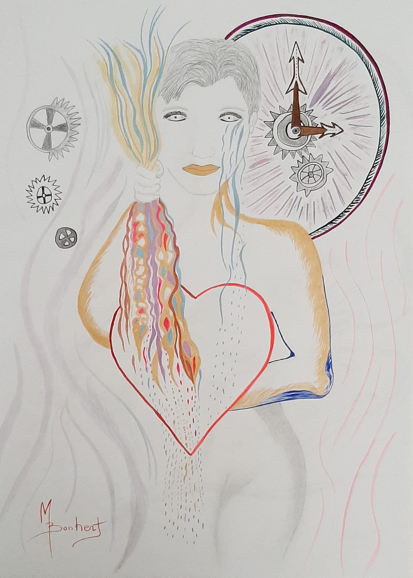 NEUF Soyeux Signature LOVE coeurs noir serré avec Rose Ou Blanc Motif De Cœur Med