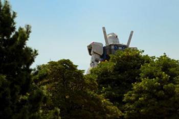 お台場に行って来た その1 「GREEN TOKYO ガンダムプロジェクト」