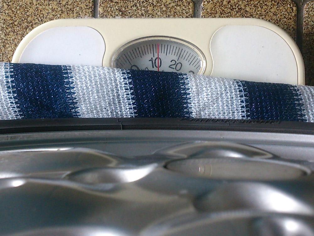 スズキ ソリオ 15インチ 純正アルミホイール・タイヤ重量12kg
