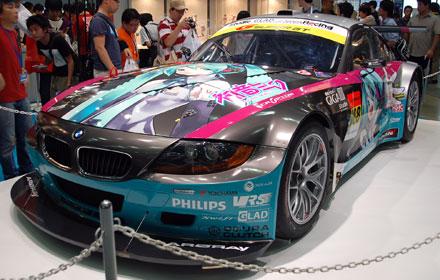 キャラホビ2008 S-GT BMW Z4 初音ミク
