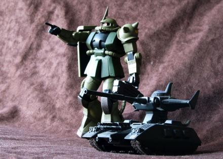 FG MS-06F ザク2 07-3