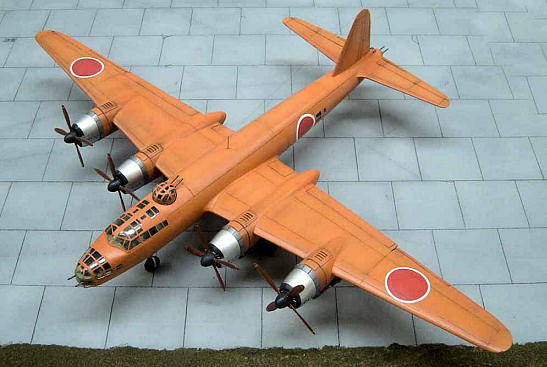Hasegawa 172 Nakajima G8N1 Renzan by Aldo Chetcuti