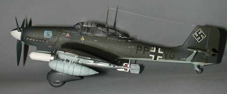 Hasegawa 148 Ju87D4 Torpedoflieger