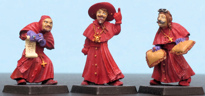 Victoria Miniatures 28mm Spanish Inquisition Figure Set