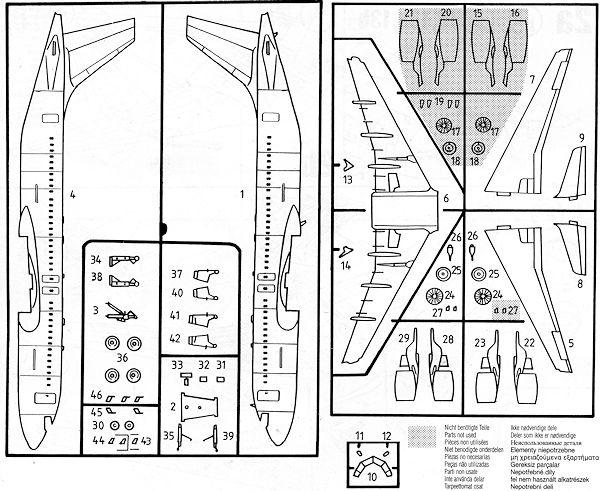 Revell 1/144 Airbus A.320, previewed by Scott Van Aken