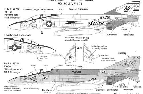 Superscale 72-845: F-4J/S Phantom II, reviewed by Scott