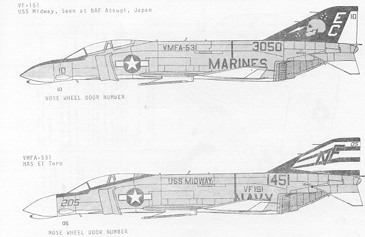 Superscale 48-061: F-4N Phantom II
