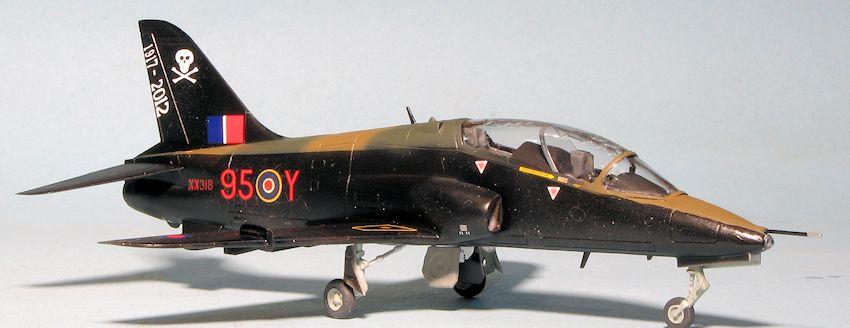 Airfix 172 Hawk T1 RAF Benevolent Fund by Scott Van Aken