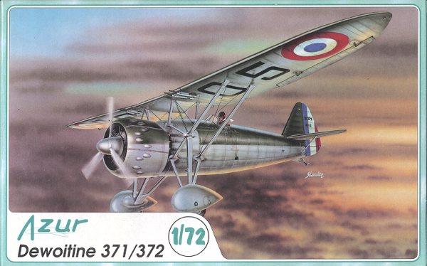 Resultado de imagen de dewoitine 371 model kit