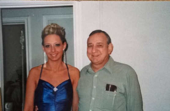 My grandpa and I during Sponge many many years ago
