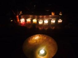 Chakra candles.