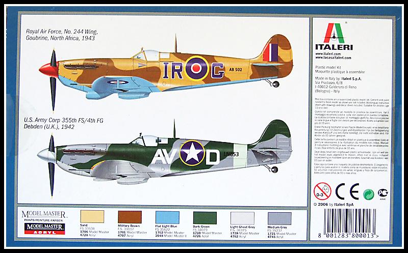 Spitfire Mk Vb Italeri 172  Modelling of the Second World War